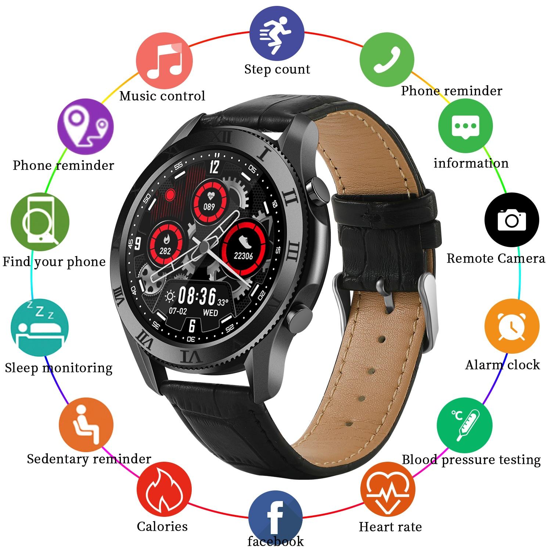 New Arrived SW1 Smart Watch Men 2021 Sports Inteligent Bluetooth Call Womens Digital Fitness Samsang Galax Huawe Smartwatch