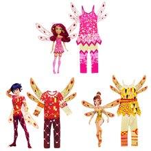 Dessin animé Mia Yuko. Costumes de cosplay Prince Mo et Mia pour les enfants donnent robe de fête pour enfants et costumes dhalloween