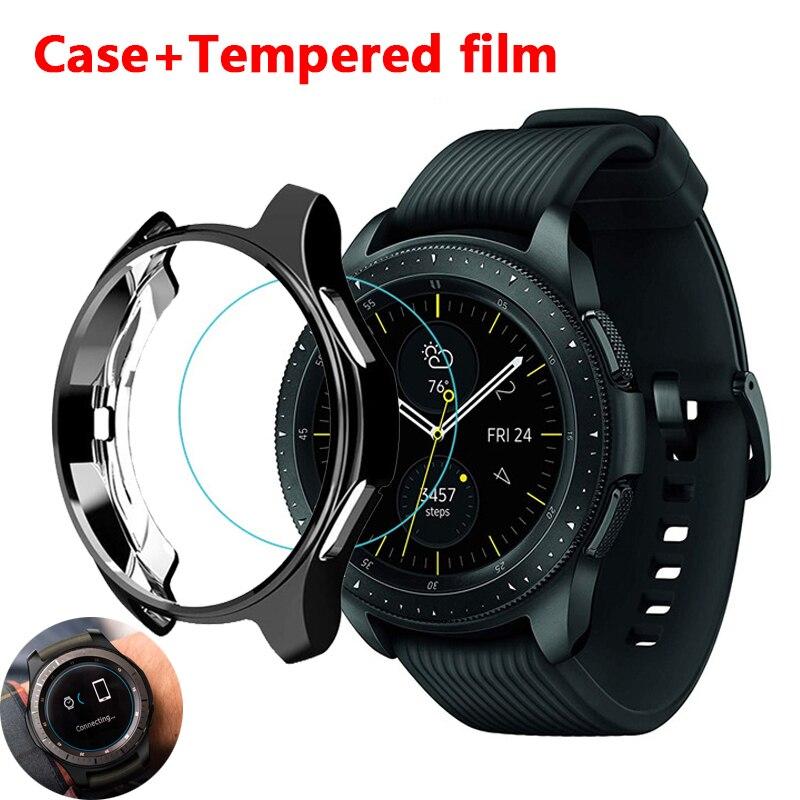 Funda protectora para Samsung Galaxy Watch, 46mm, 42mm, Gear S3 frontier, accesorios...