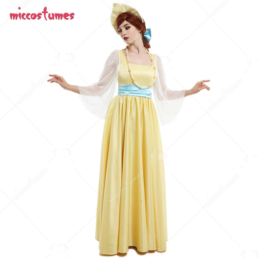 Anastasia غرامة فلاش زينت فستان الأميرة طقم ملابس تأثيري مع قلادات التاج غطاء الرأس القوس