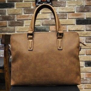 MEN'S Handbag Shoulder Bag Briefcase Multi-functional Computer Bag Casual