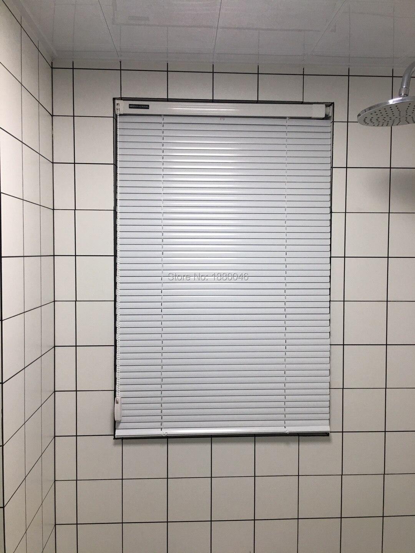 Persianas enrollables de color blanco de estilo moderno blackout aluminio aleación protector solar persianas enrollables para oficina/sala de estar
