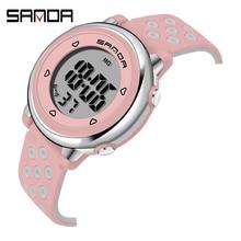 SANDA Children Watch Sport Student Kids Watches Boys Girls Clock Gift Child LED Digital Electronic W