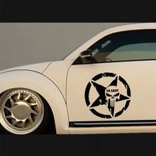 Fashion USA Military Vinyl Wrap Car Door Handle Decals Car Styling Stickers And Car Body Decals Acce