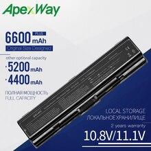 Apexway Laptop Battery For Toshiba PA3534 PA3534U-1BAS PA3534U-1BRS Battery for Laptop A300 A500 L200 L300 L500 L550 L555 6 Cell