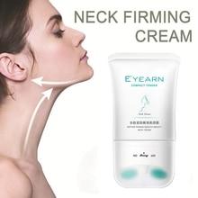 Crema reafirmante de cuello de belleza brillante antiarrugas reafirmante de la piel suave Crema de cuello de rodillo de antienvejecimiento