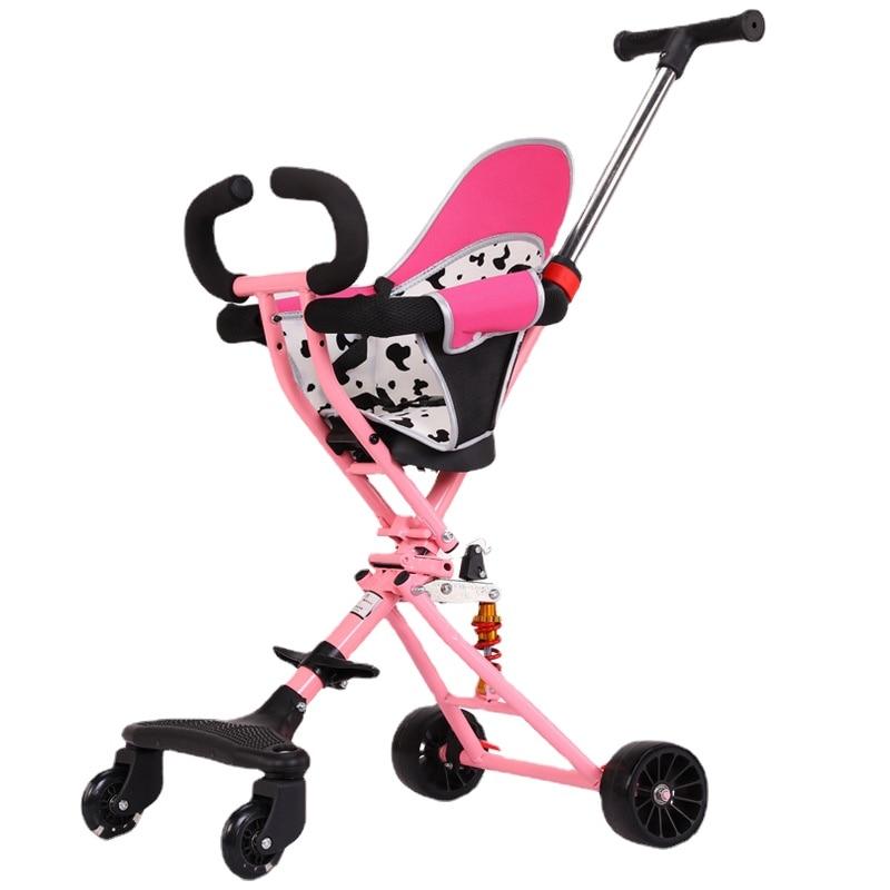 Фото - Детская прогулочная коляска, легкая прогулочная коляска, складная детская коляска-коляска, детская прогулочная коляска, прогулочная коляс... коляска