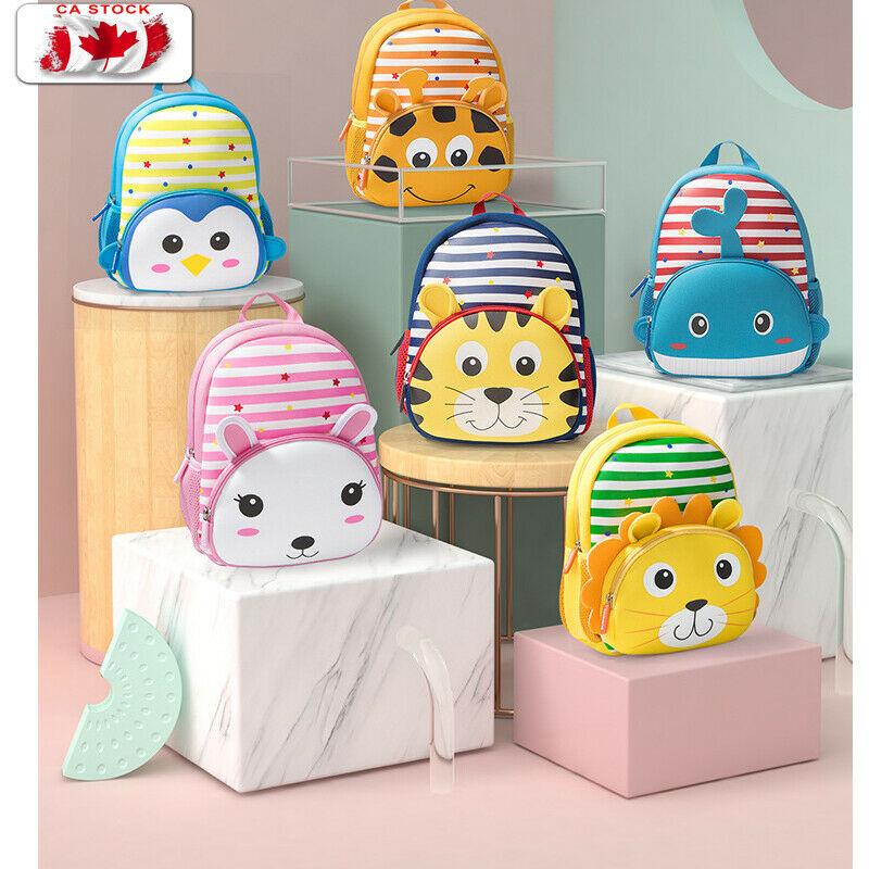 Crianças mochila bonito do miúdo do bebê da criança do jardim de infância mochila 3d dos desenhos animados animal saco de ombro presente do bebê para a criança