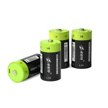 4pcs/lot ZNTER 6000mAh 1.5V rechargeable battery Micro USB rechargeable battery Lipo LR20 battery