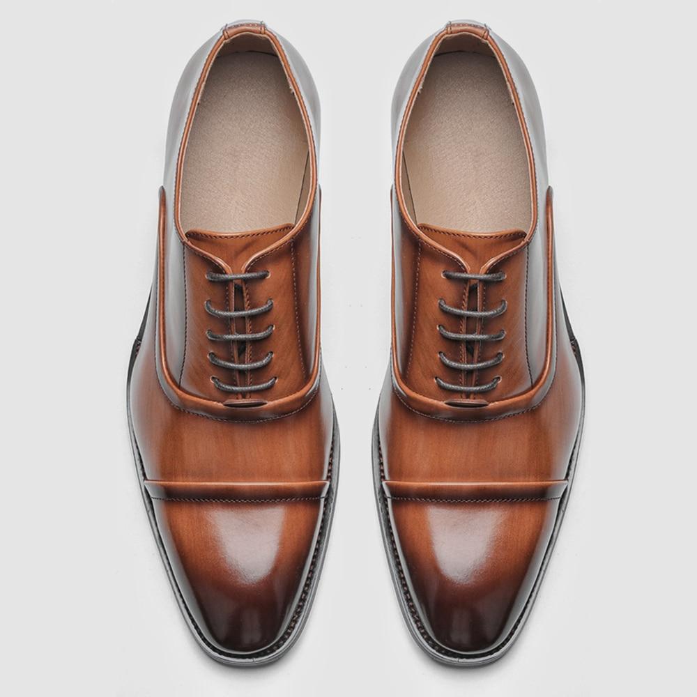40 ~ 46 мужские деловые туфли, стильные мужские удобные деловые туфли # KD6255