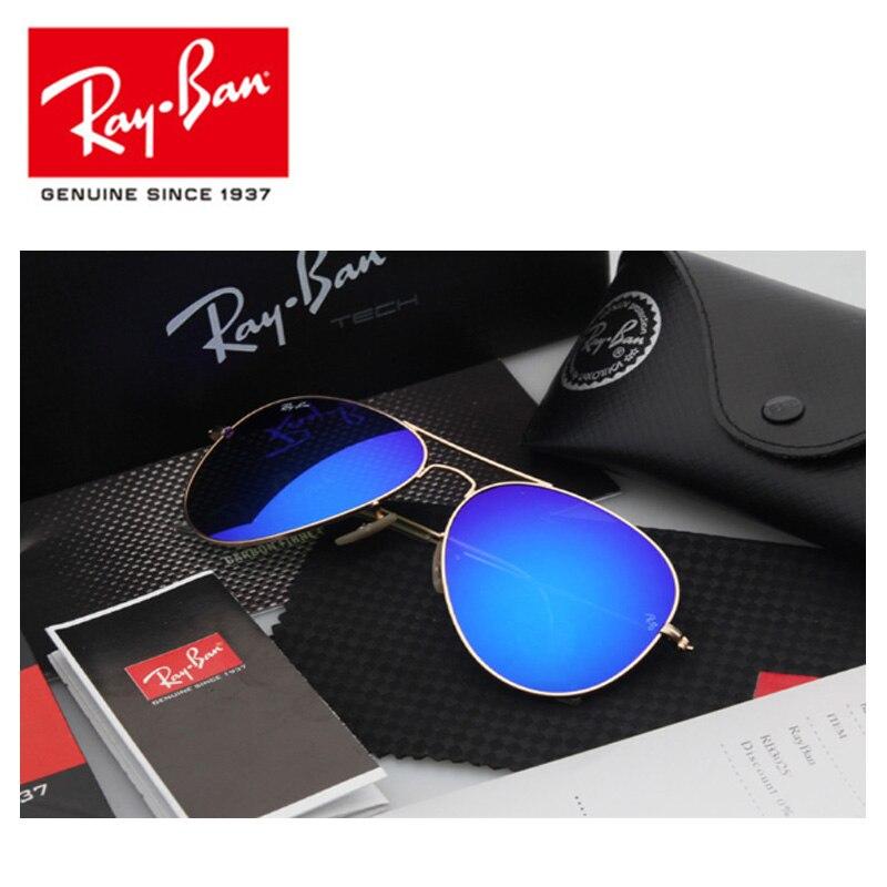 Gafas de sol clásicas Rayban 3025, gafas de sol aviador con protección UV400 para hombre, gafas de sol Rayban RB3025