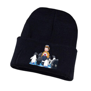 A Place Further Than the Universe Knitted hat Cosplay hat Unisex Print Adult Casual Cotton hat teenagers winter Knitted Cap