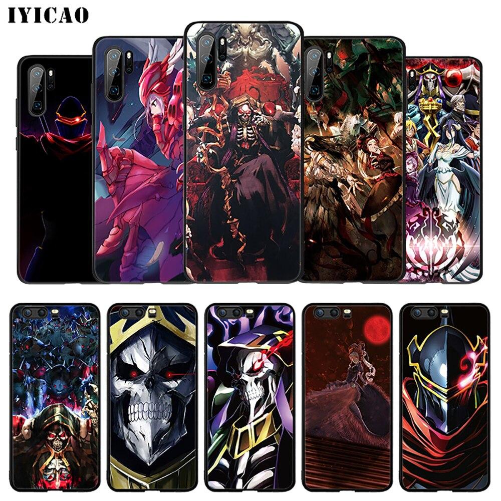IYICAO Overlord Anime caso suave para Huawei Mate 30 20 10 lite Pro Y6 Y7 Y9 primer 2018 y Nova 3i 3 2 4 2i 5i