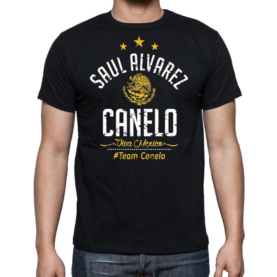 Camiseta de diseño creativo de Saul Canelo Alves, ropa deportiva de boxeo...