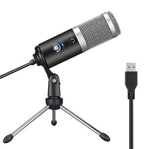 AK-5 емкостный микрофон USB компьютерный микрофон кардиоидный направленный умный шумоподавление