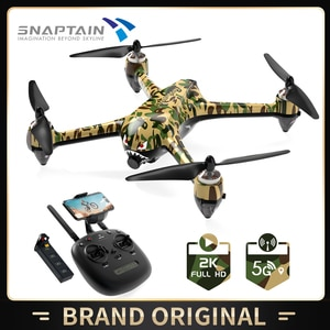 SNAPTAIN SP700 GPS Дрон с бесщеточным Мотором 5G Wi-Fi FPV дрона с дистанционным управлением 2K Full HD Камера видео в режиме реального времени модуль Батаре...