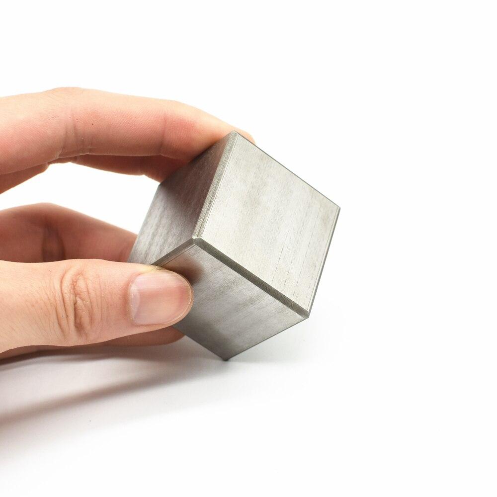 5N Hohe Reinheit Wolfram Wolfram Cube W Block 99.999% Forschung Entwicklung Element Metall Einfache Substanz Harte Sharp Metall 38MM