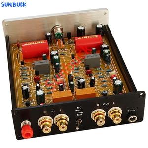 Sunbuck Phono Preamp MM MC turntable dual Phono preamplifier discrete component class A circuit suitable for Vinyl phono