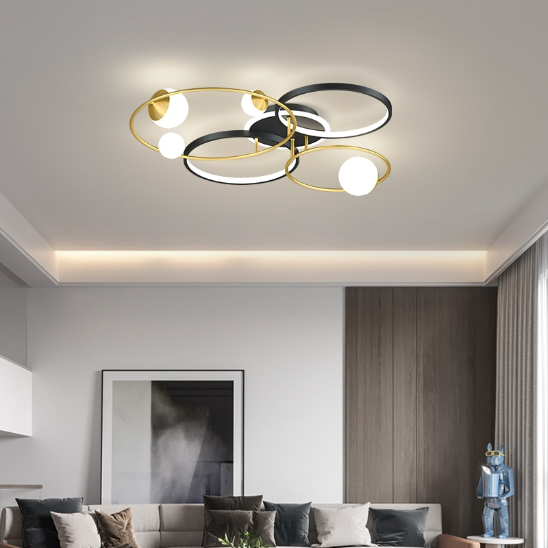 Verllas-مصباح سقف led بتصميم إسكندنافي حديث ، مصباح سقف ، مثالي لغرفة النوم أو غرفة المعيشة