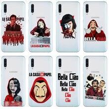 SOY LA PUTA AMA LA CASA DE PAPEL Silicone phone case for Samsung Galaxy A3 A5 A6 A8 Plus J5 J7 A30 A50 A10 A750 2018 Cover