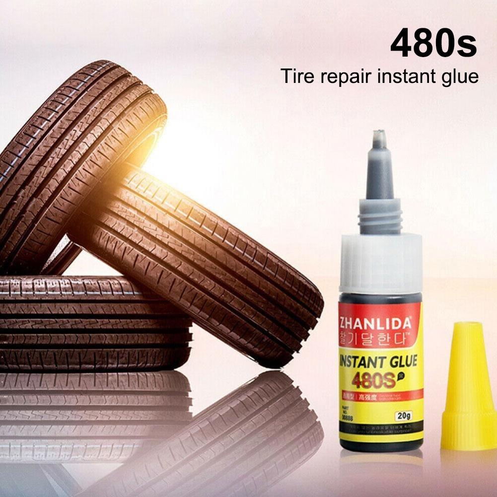 480S автомобильный клей для ремонта шин, черные клейкие уплотнители, супер герметик, Ремонт автомобильной резины, фоторезины, уплотнение для ...