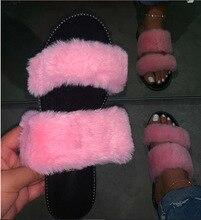 Sandales en fourrure pour femmes