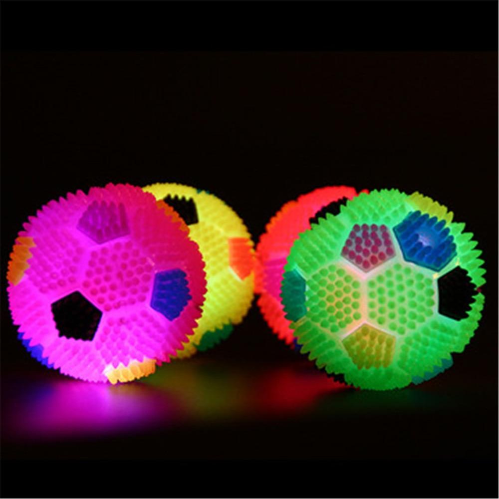 Детская игрушка для волейбола с подсветкой, надувной мяч для волейбола, светящийся прыгающий мяч со светодиодным светильником для футбола, ...