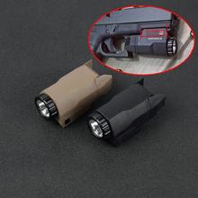 APL, mini pistolet à pistolet à lumière tactique compacte, armes légères à lumière constante/momentanée/stroboscope LED blanche pour Rail Pictinny