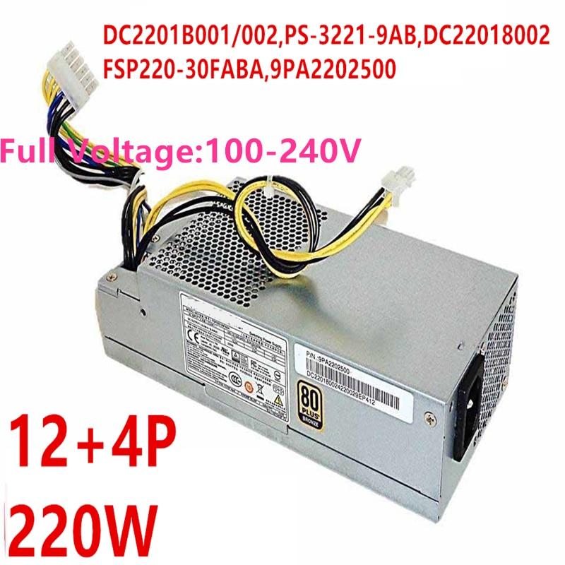 New PSU For FSP Veriton 4630 4630G X6630G B630 220W Power Supply PS-3221-9AB  FSP220-30FABA FSP220-30PABA d14-220p2b D15-220N1A