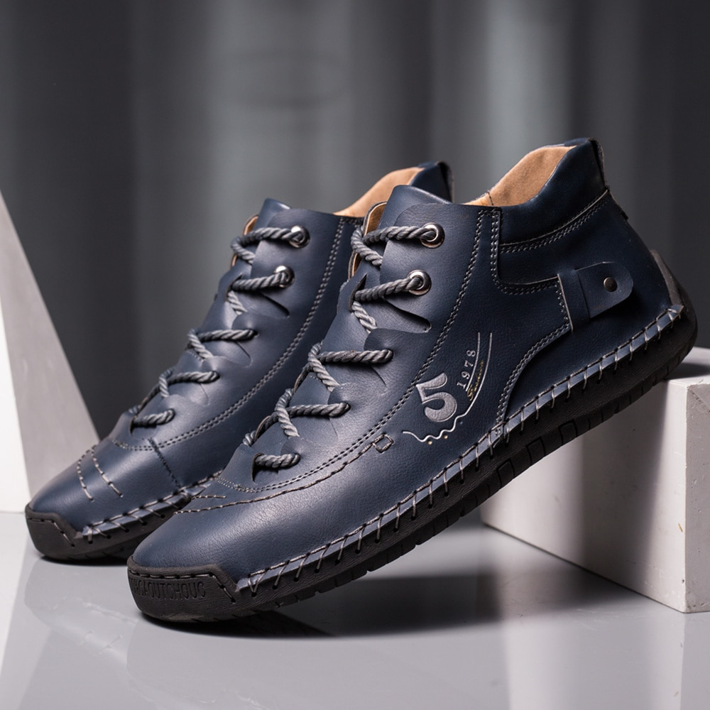 Big Size Casual Shoes Men Fashion Brand Business Men Casual Shoes Hot Sale Breathable High Top Casua