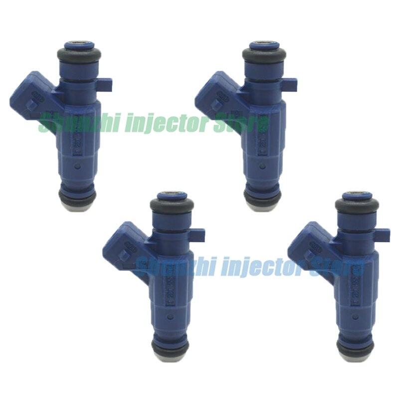 Boquilla de inyector de combustible 4 Uds para 0280155794 CITROEN y PEUGEOT SAXO / XSARA / 206 / 306 1,6