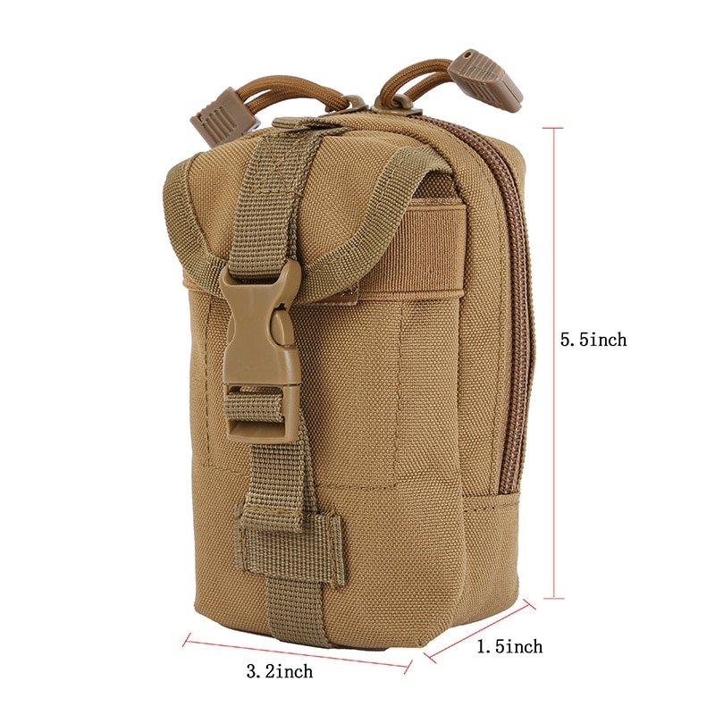 Molle Tactical Bags Hunting Bag EDC Packs Condor 600D Nylon Gadget Pouch Bags Outdoor Camping Hunting Sports