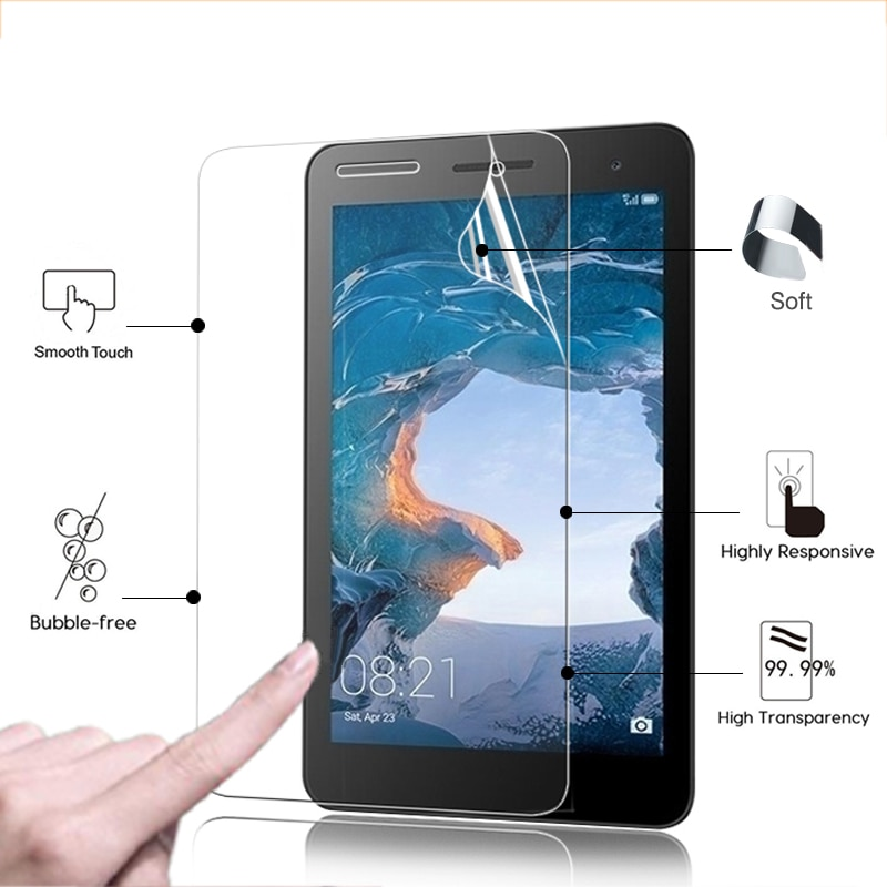 Película protectora de pantalla LCD Ultra delgada para Huawei MediaPad T2 BGO-DL09,...
