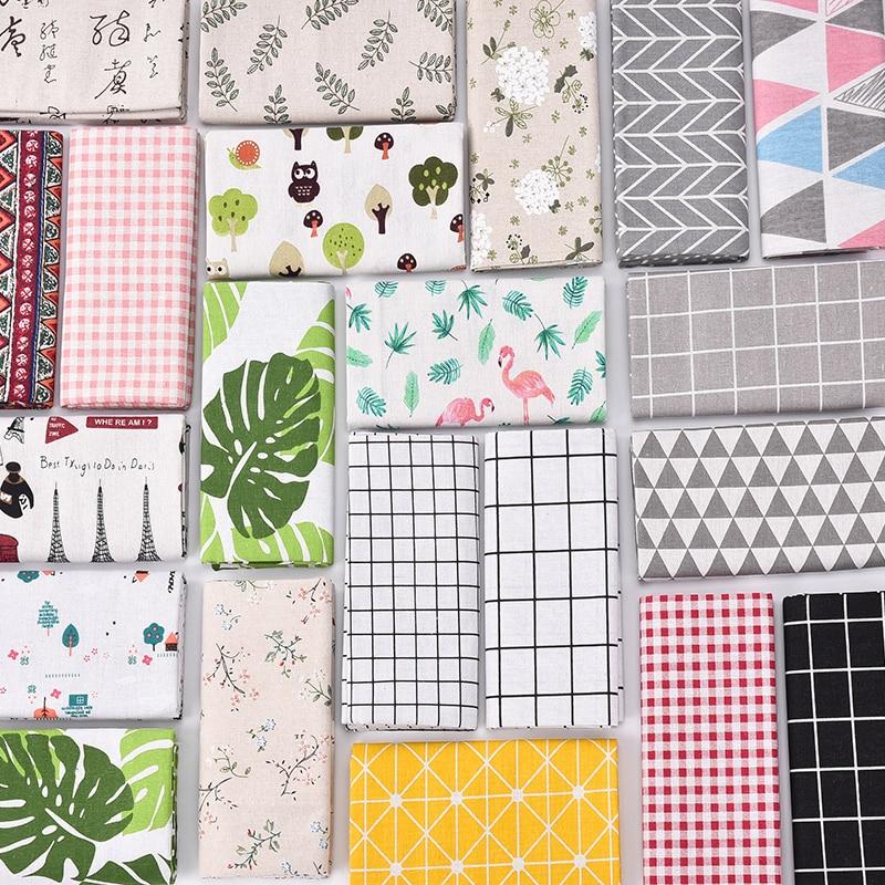 Cortinas de lino de algodón de 100x150cm, paño de fondo Ins, paño colgante a cuadros, mantel Floral, tela estampada con cabezal