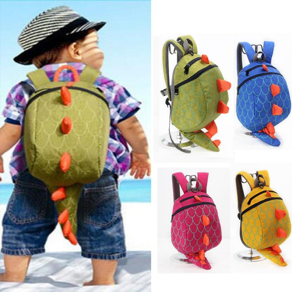 INSULAR Kinder Kinder Jungen Mädchen Mode Niedlichen Cartoon 3D Dinosaurier Schulter Schule Taschen Neue Anti-verloren kinder Rucksack #45