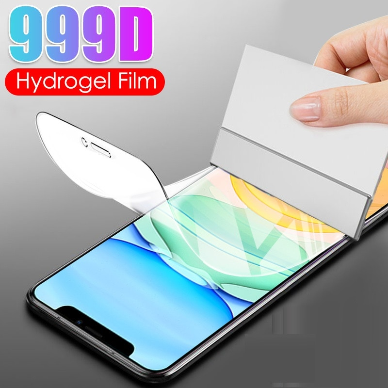 Full Cover Hydrogel Film on For Iphone 11 12 Pro MAX Screen Protector Protective Case For Iphone 11