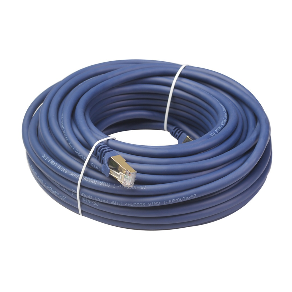 B25 # Cat 8 Ethernet Cable profesional Cable de conexión de red de 40gbps 2000mhz S/ftp Lan cables Internet de alta velocidad de Cable