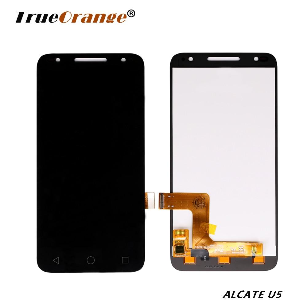 Pantalla LCD OT5044 5044 5044D 5044I 5044T 5044Y, pantalla de montaje de digitalizador con pantalla táctil con reemplazo de marco para Alcate One Touch U5