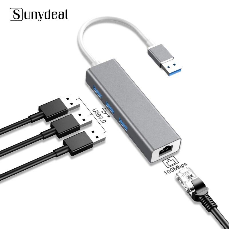 4 en 1 Multi Hub USB 3 0 para PC portátil accesorios...