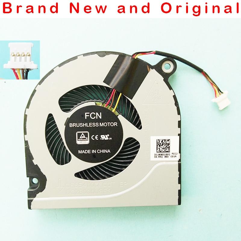 Nuevo ventilador de refrigeración de CPU para ordenador portátil para Acer FCN DFS541105FC0T FJCL cc 5V 0.5A serie dc28000jrfo