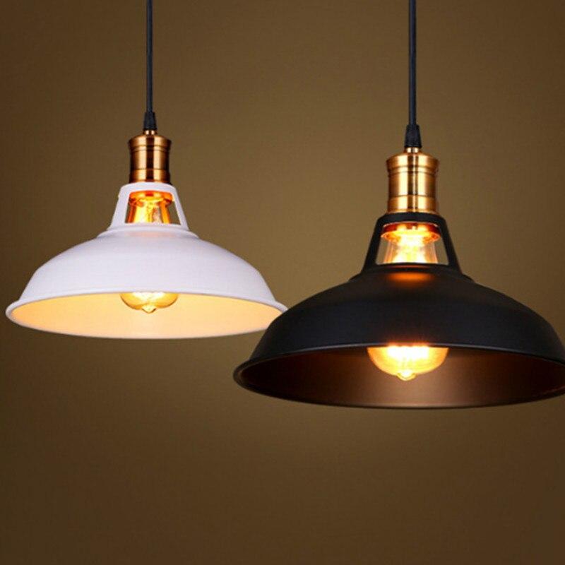 luzes pingente retro lampada e27 titular edison led ferro estilo industrial hanglamp