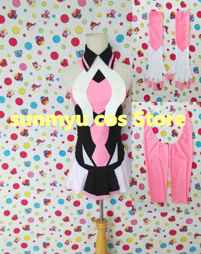Костюм для косплея Senki Zessho Symphogear GX Tsukuyomi Shirabe, размер на заказ, Хэллоуин