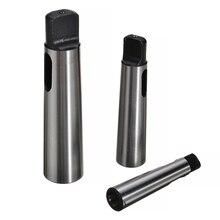 3 pièces/ensemble en acier poli Morse cône adaptateur cône MK4-MK3-MK2-MK1 manchon Morse cône outil de forage pour réduire les outils dadaptation
