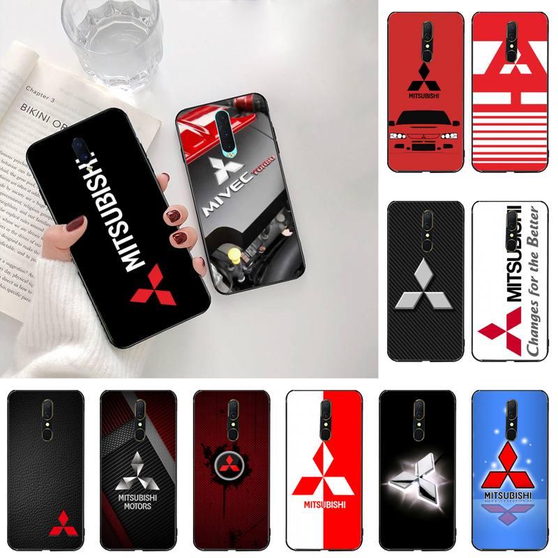 Mitsubishies Car LOGO Phone Case For Oppo A5 A9 2020 Reno2 z Renoace 3pro A73S A71 F11