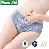 menstrual period panties leak proof cotton small underwear for teen women feminine hygienesoft under pants female briefs m l