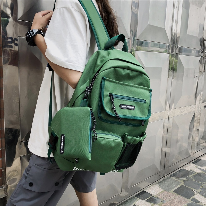 Новые вместительные рюкзаки для мужчин и женщин, женские рюкзаки, сумки через плечо, модные школьные сумки, оригинальные