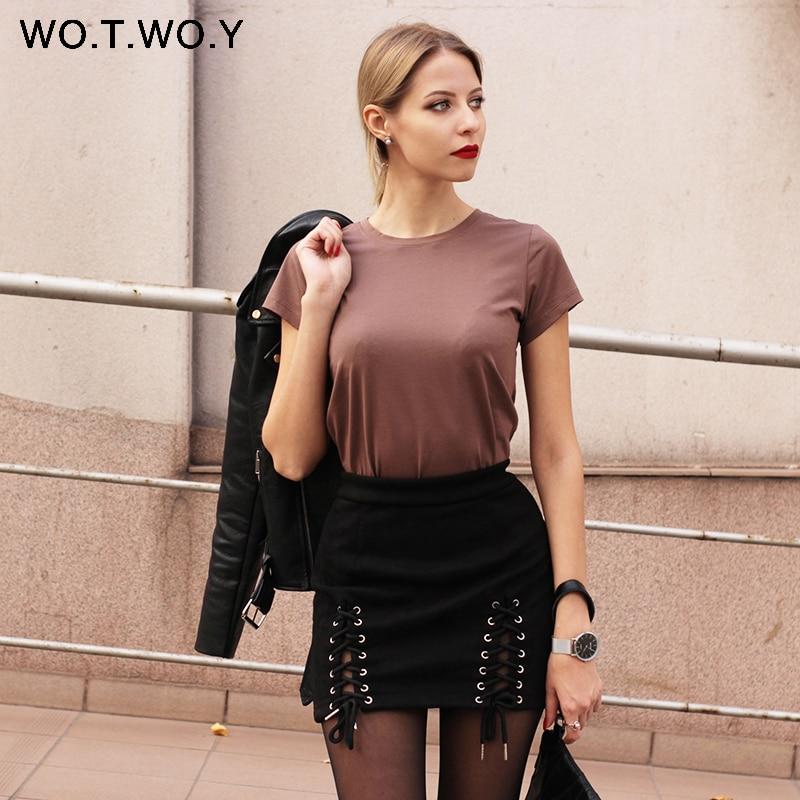 3High Quality 18 Color S-3XL Plain T Shirt Women Cotton Elastic Basic T-shirts Female Casual Tops Short Sleeve T-shirt Women 002