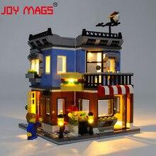 JOY MAGS فقط مجموعة إضاءة Led ل 31050 الخالق ركن ديلي مجموعة الإضاءة متوافق مع 24007 (لا تشمل نموذج)