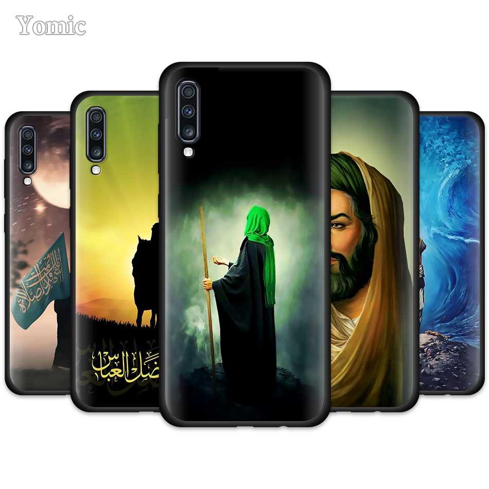 Islam Shia Imam Ali Iraq Arabic Case for Samsung Galaxy A50 A51 A70 A71 A10 A20 E A30 S A40 A80 A30s Black Silicone Phone Cover