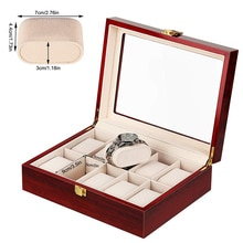 Luxury Wooden Watch Box 5 Slots Wood Holder Boxes For Men Women Watches Organizer Box 2 3 5 12 Grids
